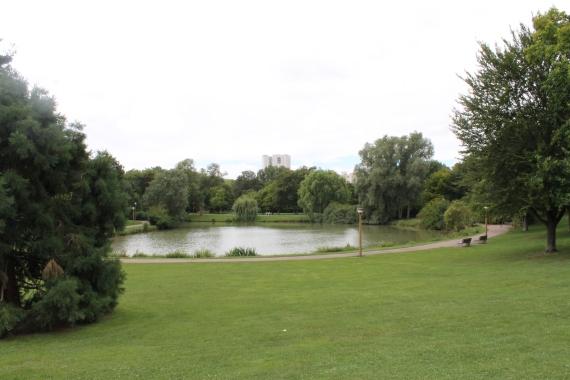The Central Park of Reims / Le Central Park de Reils