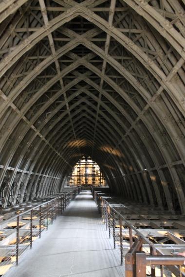 The Cathedral's vault / La voûte de la cathédrale
