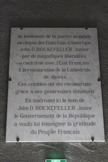Thank you Rockfeller ! / Merci Rockfeller