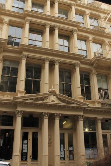 Cast-iron facade - Façade en fonte