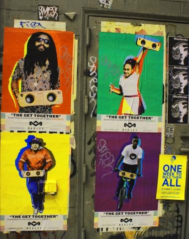 Color posters - Posters colorés