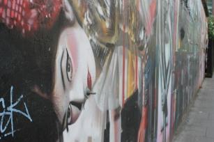 Chalk Farm Grafitti