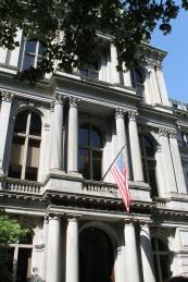 Boston Latin School, America's first public school.