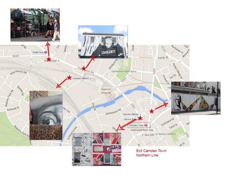 Walking-Map-Camden