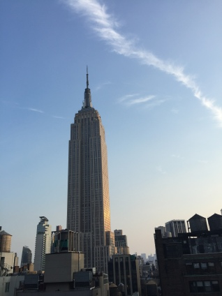 Empire State Building, from Spyglass rooftop bar