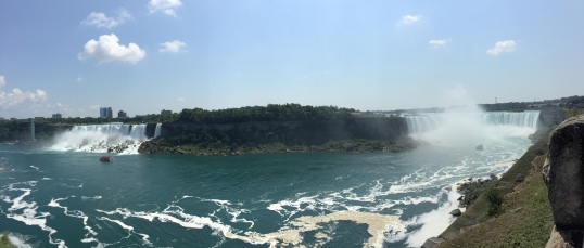 Niagara Falls, Falling at 360°