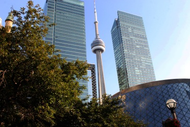 Toronto, CN Tower & Financial Disctrict