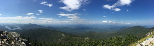 View from the Whiteface Mountain