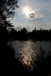 Sunset on Mirror Lake