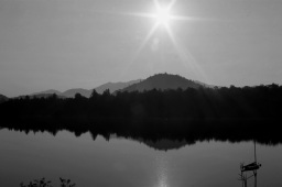 Sunrise on Lake Placid