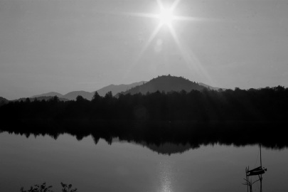 Sunrise on Lake Placid