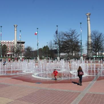 Atlanta - Olympic Plaza