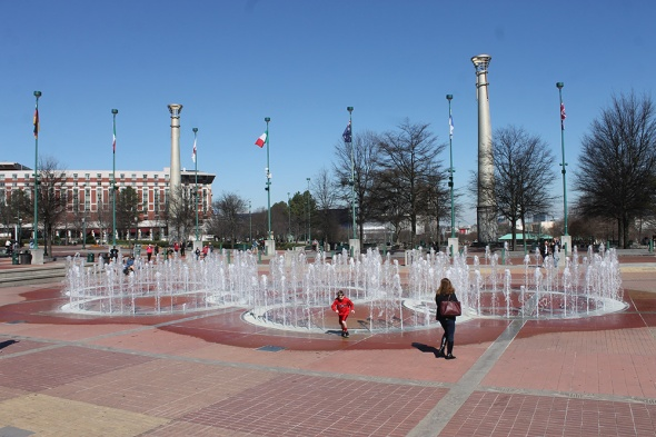 Atlanta - Olympic Plaza