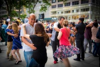 Bryant Park - Dancing Vibes