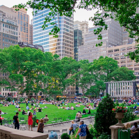 Bryant Park - Peace in Midtown