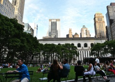 Bryant Park - Chilling Vibes