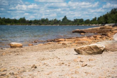 Sam's Point - The lake