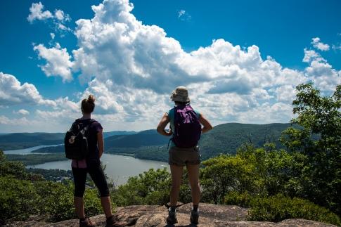 Breakneck Ridge - Reaching the top