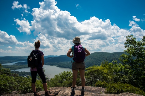 Breakneck Ridge - Reaching the top