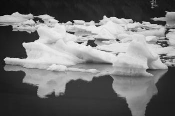 Iceberg Glacier Grey