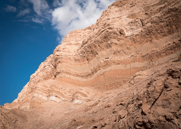 Layered rocks