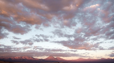 Watching the sunset from the Mirador del Coyote