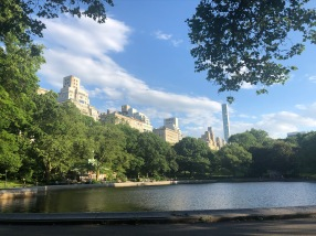 A walk in Central Park, East side